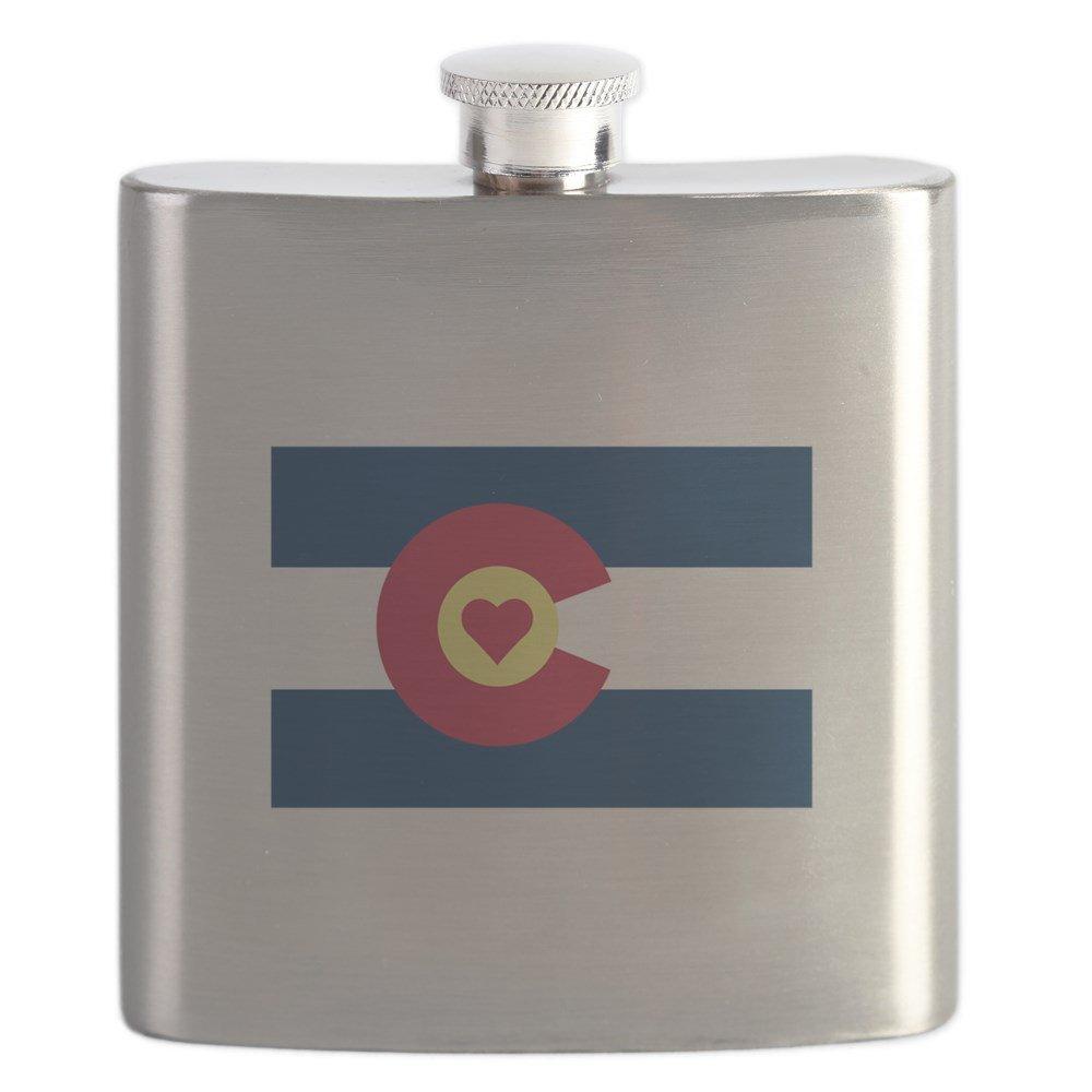 新版 CafePress Love – I Love Colorado – CafePress ステンレススチールフラスコ –、6オンスDrinkingフラスコ B01IUHQKN0, 西山町:85b863a8 --- woxpedia.com
