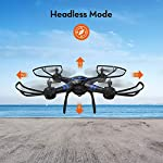 AKASO A31 Drone with Camera WiFi 1080P FPV Live Video RC Quadcopter Drone for Beginners Adults Kids, Bright LED Light…