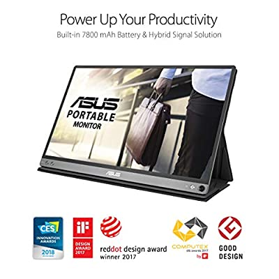 "Asus MB16AP Zenscreen Go 15.6"" Full HD IPS USB Type-C Portable Eye Care Monitor"