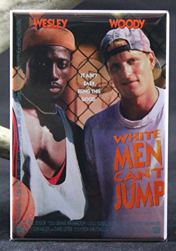 White Men Can't Jump Refrigerator Magnet.