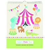 Pepper Pot Baby's First Year Calendar, Circus Pals