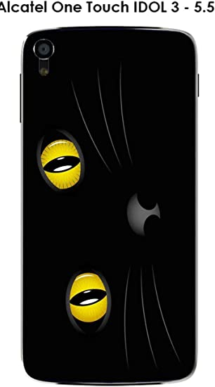 Coque Alcatel Onetouch Idol 3 5 5 Design Cat Amazon Fr High Tech