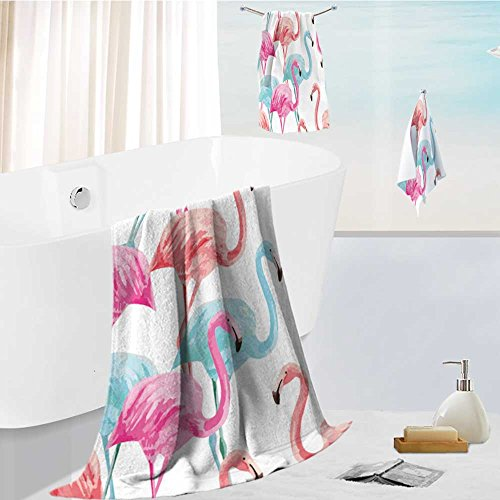 aolankaili Family Big Bath Towel set composition of the tren