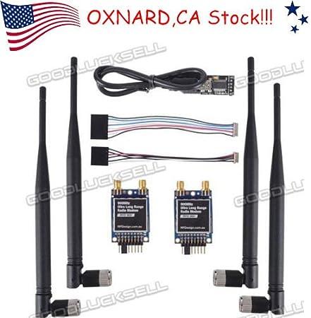 2pcs RFD 900 + MHz Ultra Long Range Radio Telemetría módem ...