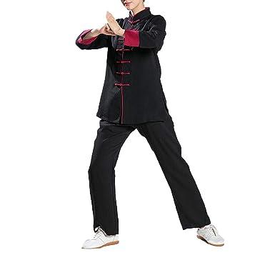 Tai Chi Unisex Chino Tradicional Artes Marciales Uniforme Kung Fu ...