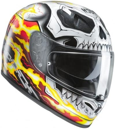 Mejor casco HJC Marvel: GHOST RIDER