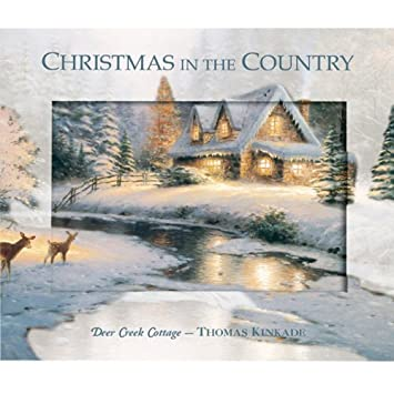Thomas Kinkade Christmas.Thomas Kinkade Christmas In The Country