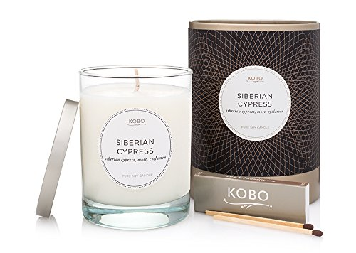 Kobo Candles Kobo Soy Candle, Siberian Cypress