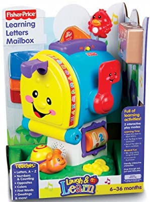 Fisher-price Laugh Learn Learning Letters Mailbox by Fisher-Price