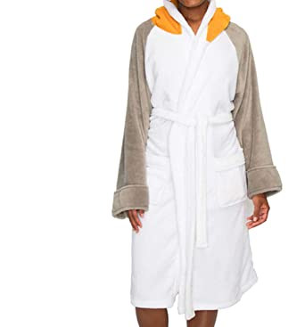 Womens Star Wars PORG Dressing Gown with Hood at Amazon Women s ... 8497e433d