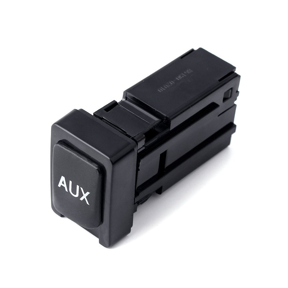 Auxiliary Jack Adaptor for Toyota Corolla 2009-2013 Stereo Adaptor Assembly 86190-02010 for 09-12 Tacoma 11-13 Sienna 07-14 Tundra