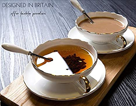 Juego de tazas de cerámica para té, café, cerámica, china, 230 ml, diseño de la película