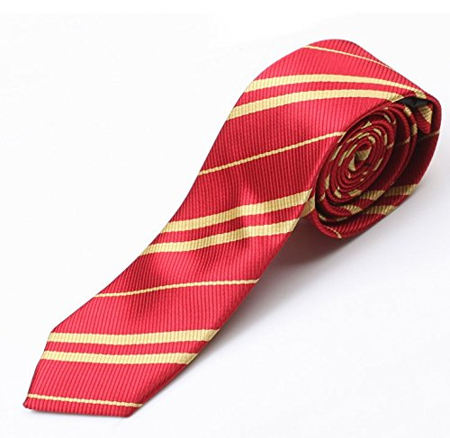 9-10 Year Old Halloween Costumes (JQWORKLAND Harry Satin Gryffindor Tie Halloween Costume For Kids 5-14 Year Old)