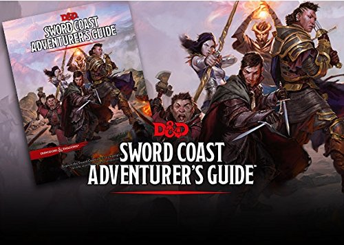 D&D: Sword Coast Adventurer's Guide (5th Edition / Next - Book / Manual) ()