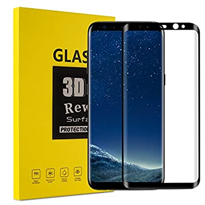 Galaxy S8 Plus Screen Protector,Fastbee 3D Tempered Glass Full Coverage and Ultra Clear with Anti-Scratch for Samsung Galaxy S8 Plus