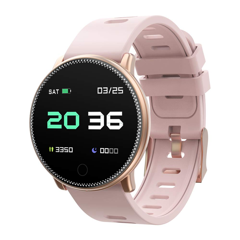 Smart Watch, UMIDIGI Uwatch2 Bluetooth Smartwatch for Men Women Kids Compatible Android iOS, Ip67 Waterproof, Fitness Activity Tracker with Heart Rate ...