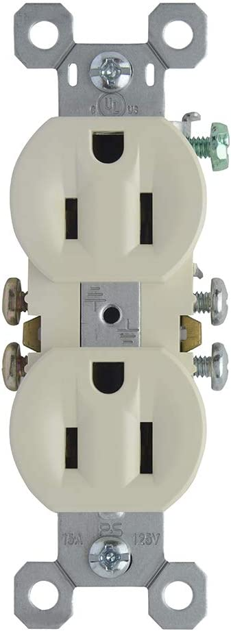 Legrand-Pass /& Seymour 3232LAU Duplex Recep 15A//125V W//UPC
