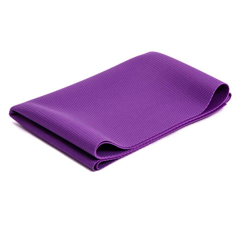FORTR Home Faltbare ultradünne Naturkautschuk-Yogamatte