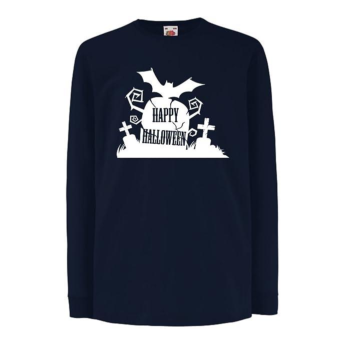 Niños/Niñas Camiseta Cementerio de Halloween: Ideas para Disfraces, Ropa Fresca y diseño Aterrador. Noche de Todos los Santos: Amazon.es: Ropa y accesorios