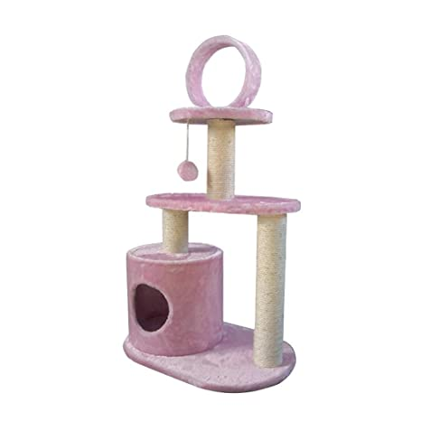 GCHOME Árbol de Gato Árbol del Gato, sisal Natural de Felpa Corto, Torre del