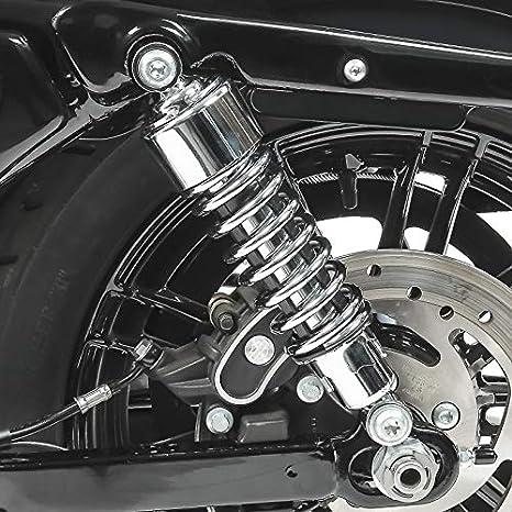 Stossd/ämpfer 10,5 f/ür Suzuki Intruder VS 1400 Tieferlegung Chrom