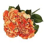 LingStar-1-Bunch-of-5-flowers-Artificial-Silk-Hydrangea-Bouquet-Fake-Flowers-Arrangement-Home-Wedding-decor-Orange