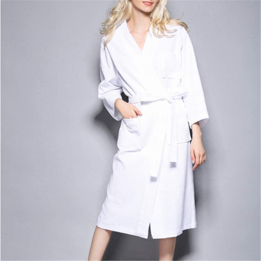 Camisones De Mujeres Night Clothes Kimonos Bata De Baño para La Novia Vestido,Albornoz de algodón para Pareja A-4 S: Amazon.es: Hogar