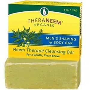 Organix South Men's Shaving and Body Bar Soap, 4 OZ