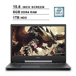 2020 Dell G5 15 5590 15.6 Inch FHD Gaming Laptop (9th Gen Intel Quad Core i5-9300H up to 4.1 GHz, 8GB RAM, 1TB HDD, NVIDIA GeForce GTX 1650, Bluetooth, WiFi, HDMI, Windows 10) (Black)