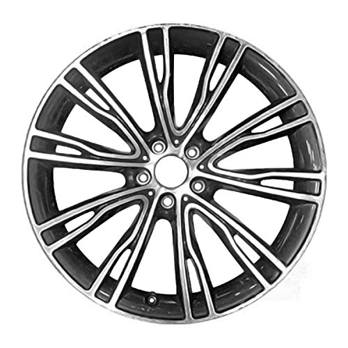 Multiple Manufactures ALY86061U10 Silver Wheel with Machined and Meets All Federal Motor Safety Standards (20 x 11. inches /5 x 120 mm, 37 mm Offset)