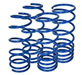 01 honda prelude lowering springs - Honda Prelude S Si Type-SH BB2-BB6 Suspension Racing Coil Drop Lower Lowering Sport Spring Kit Blue