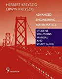 Advanced Engineering Mathematics Student Solutions Manual and Study Guide