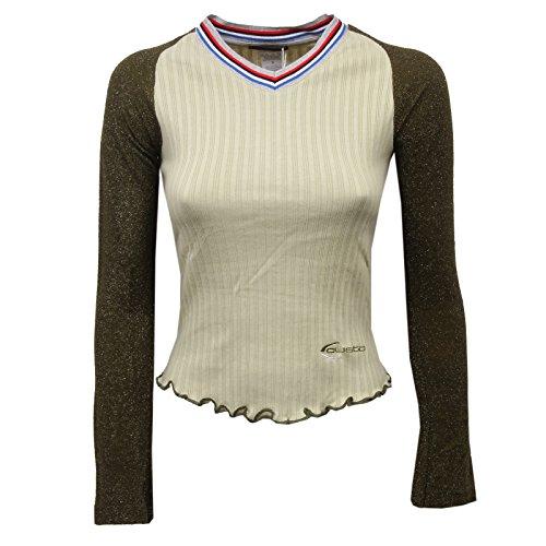 Maglia Verde Psb Barcelona D5834 Donna Green T Custo Cote Woman shirt BRS5qvT