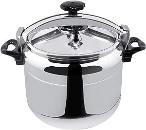 TJLSS Chef Aluminum, 16-Quarts, Fast Pressure Cooker