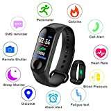 LIGE Smart Fitness Tracker, 0.96 inch Color Screen, Heart rate blood Pressure Monitoring