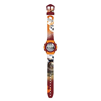 Kids Licensing - swe70222 - Star War VII - Reloj Digitale BB8: Amazon.es: Juguetes y juegos