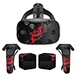 MightySkins Protective Vinyl Skin Decal for HTC Vive wrap cover sticker skins Red Dragon
