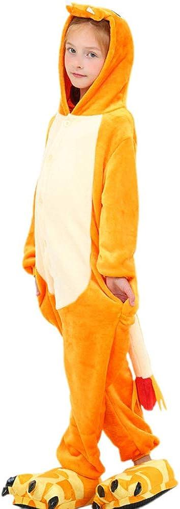 HMMYF Little Fire Dragon Autumn//Winter Boys and Girls Wear Cartoon Jumpsuit Sylinspajamas Cosplay Costume