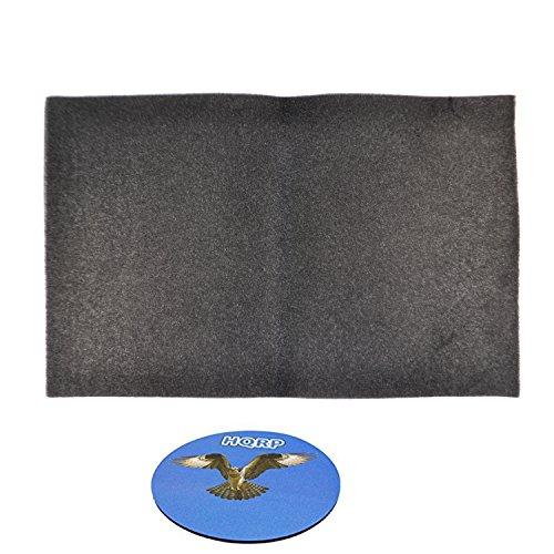 HQRP Replacement Window Air Conditioner Foam Filter, 24-Inch x 15-Inch x 1/4-Inch + HQRP Coaster - 15 X 24 X 0.25 Foam