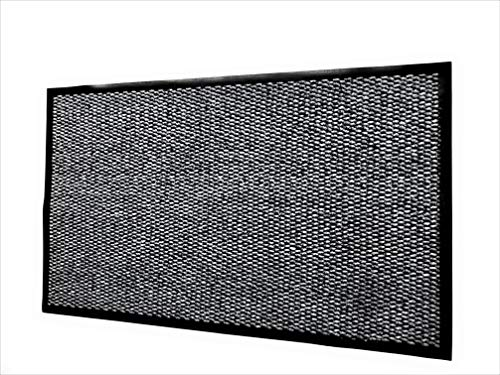 Place-Art. Front Door Mat Indoor Outdoor/Welcome Mat, Anti-Slip, Low Profile/Entrance Mat For Garage,Patio,Laundry/Shoe Scraper. (Gray)