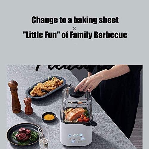 Air Fryer Met Rapid Air-Technologie Voor Gezond Koken, Bakken En Grillen, Gemakkelijk Schoon Te Maken, Plastic, Air Fryer Gezonder Oil-Free Thuis Kookt