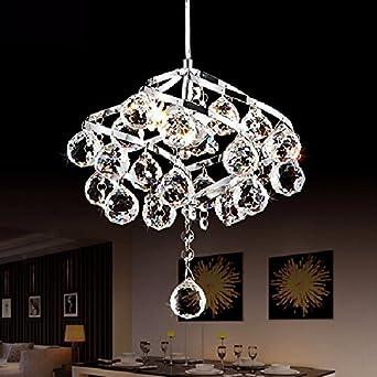 Moderno e14 LED lampadario di cristallo ristorante piccoli ...
