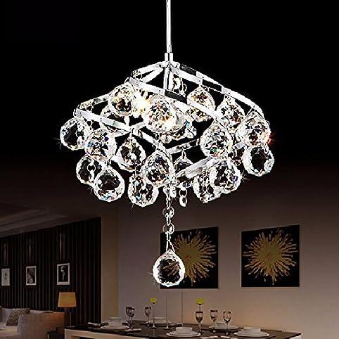 moderno e14 led lampadario di cristallo ristorante piccoli ... - Lampadario Camera Da Letto Moderna