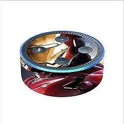 Skin Decal Vinyl Wrap for Amazon Echo Dot 2 (2nd generation) / Ironman