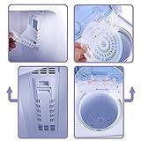 S AFSTAR Twin Tub Washing Machine 17.6-lb Compact