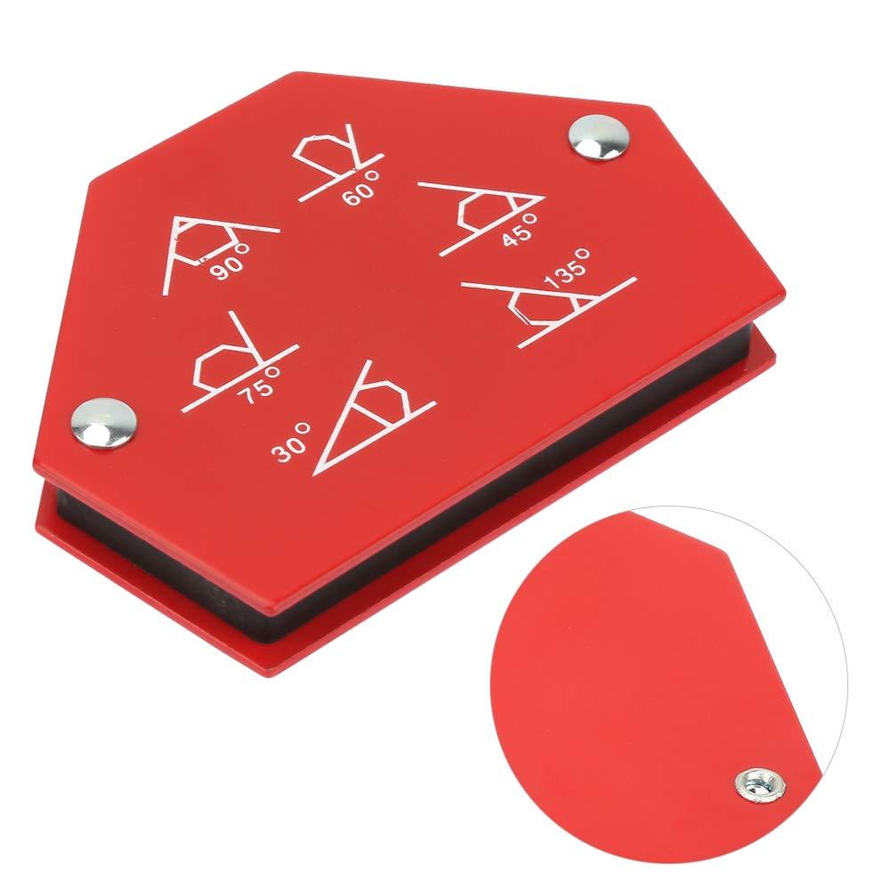 1 PC Titulaire de Soudage Multi-Angle Six C/ôt/és Fl/èches Espace /À Souder Soudage Aimant de Fixation Outil pour Mat/ériel Plastiques 25LBS