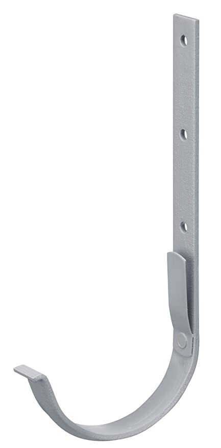 halbrund verzinkt wei/ß INEFA Rinnenhalter NW 150 Regenrinne Stahl Dachrinne