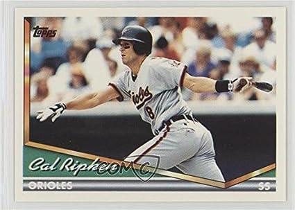 Amazoncom Cal Ripken Jr Baseball Card 1994 Topps