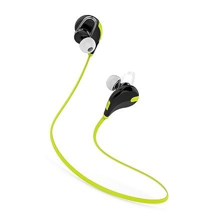 PremiumAV MST 222 Bluetooth Wireless Stereo Sport Headphones  Green