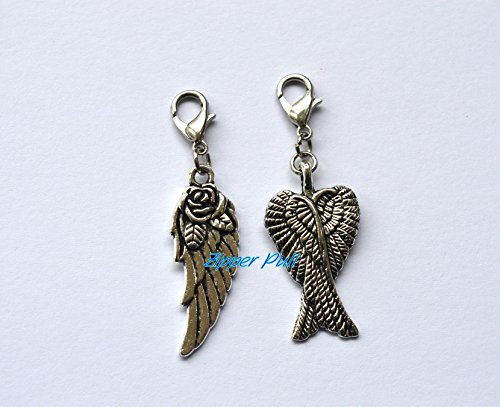 Feather Zipper Pull - 4